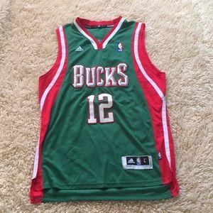 Milwaukee Bucks Parker Jersey